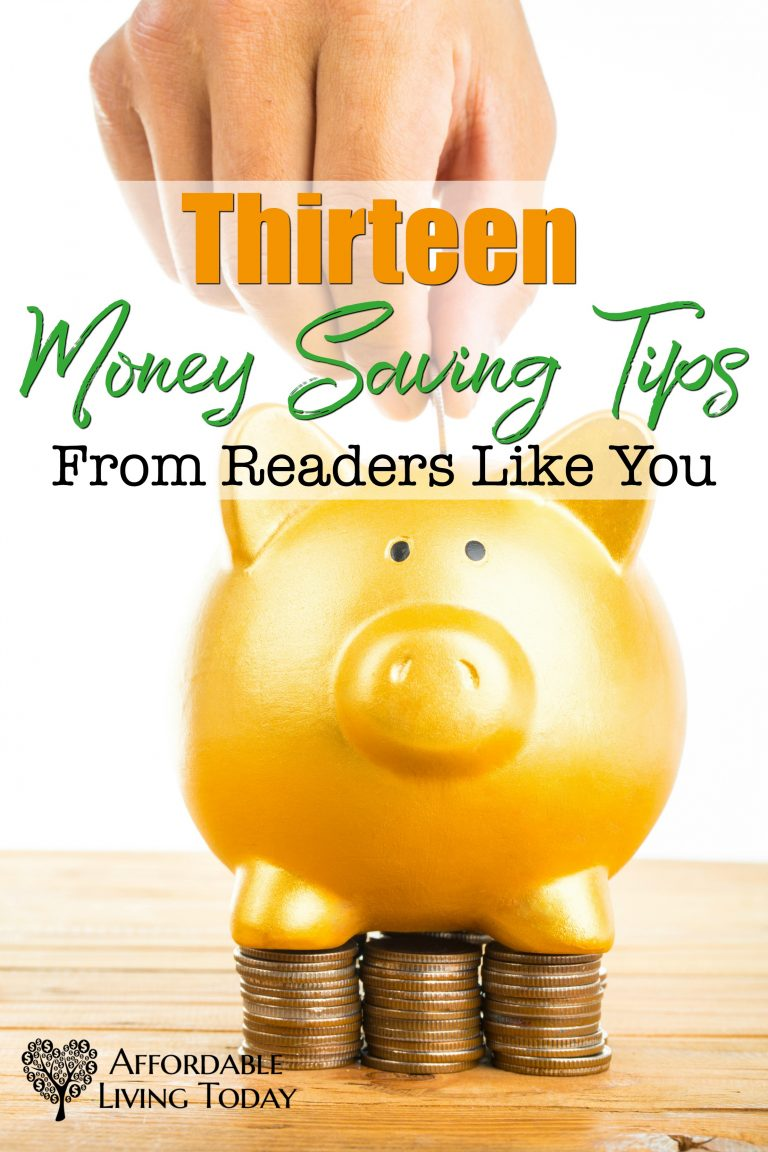 These money saving tips are great for normal families who are looking to save a few bucks here and there.