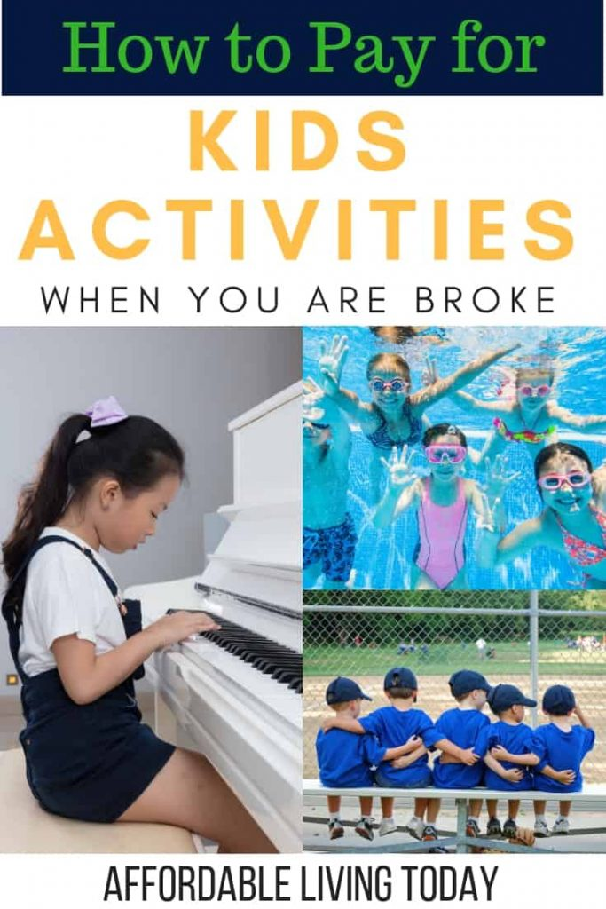 Learn how you can afford to pay for kids' extracurricular activities when money is tight.