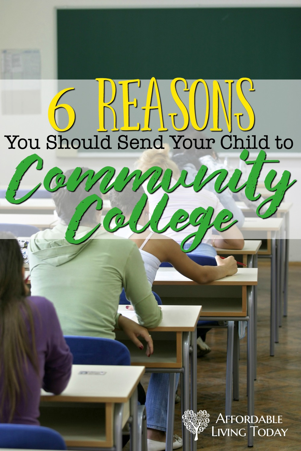 If you are worried about paying for college, consider sending your kid to community college. There are some awesome benefits to doing this.