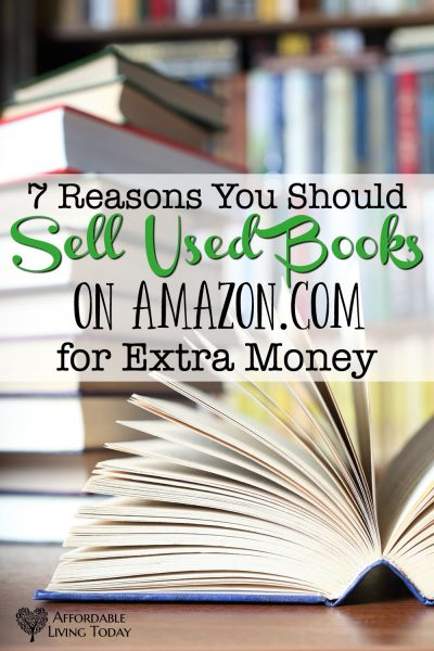 Seven Reasons to Sell Used Books on Amazon for Extra Money