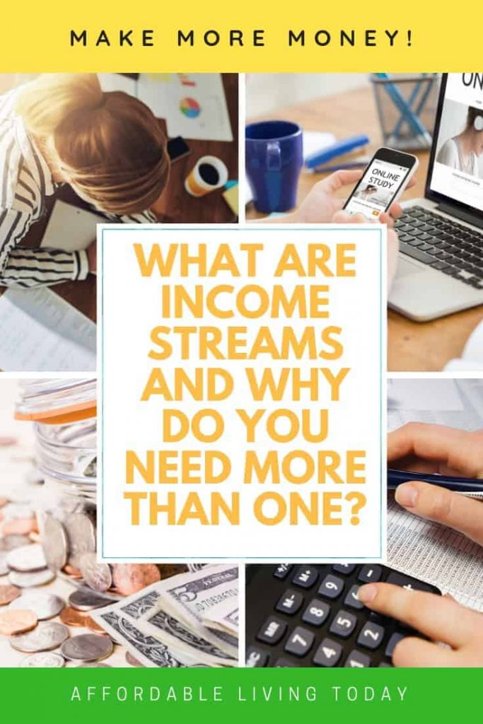 What are income streams and why do you need more than one?