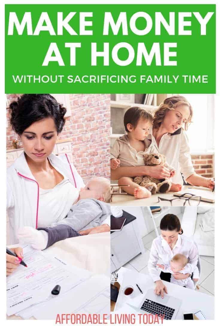 Learn how you can stay home with your kids and make money.