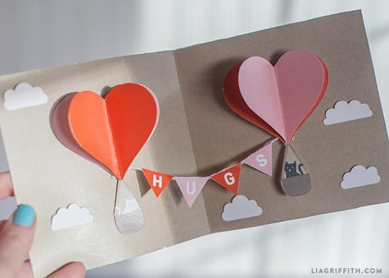 LiaGriffith.com Valentine Pop-Up Card