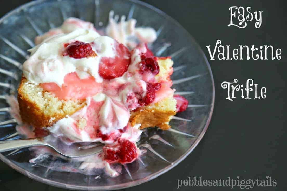 Easy Valentine Trifle by Making Life Blissful