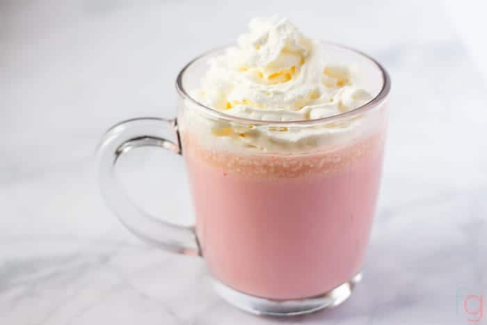 SavorandSavvy.com Pink Velvet Hot Chocolate