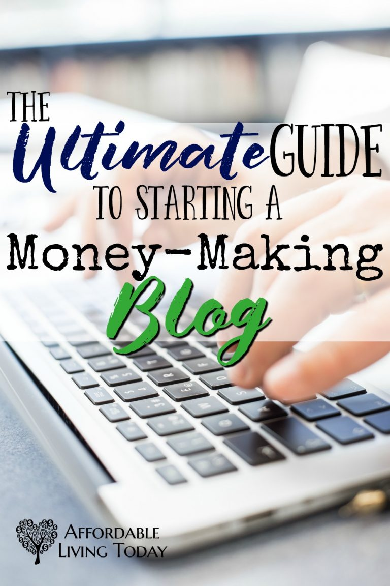 The ultimate guide to starting a money-making blog.