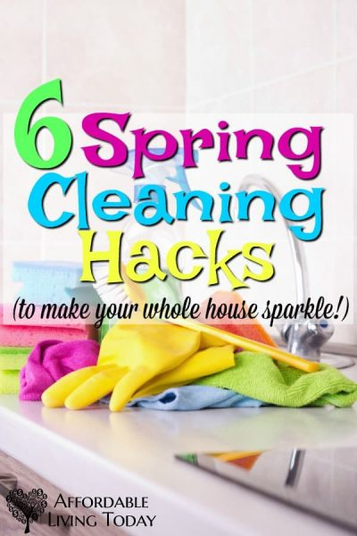6 Spring Cleaning Hacks to Make Your Whole House Sparkle