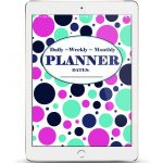 FREE Downloadable Daily, Weekly, and Monthly Planner!