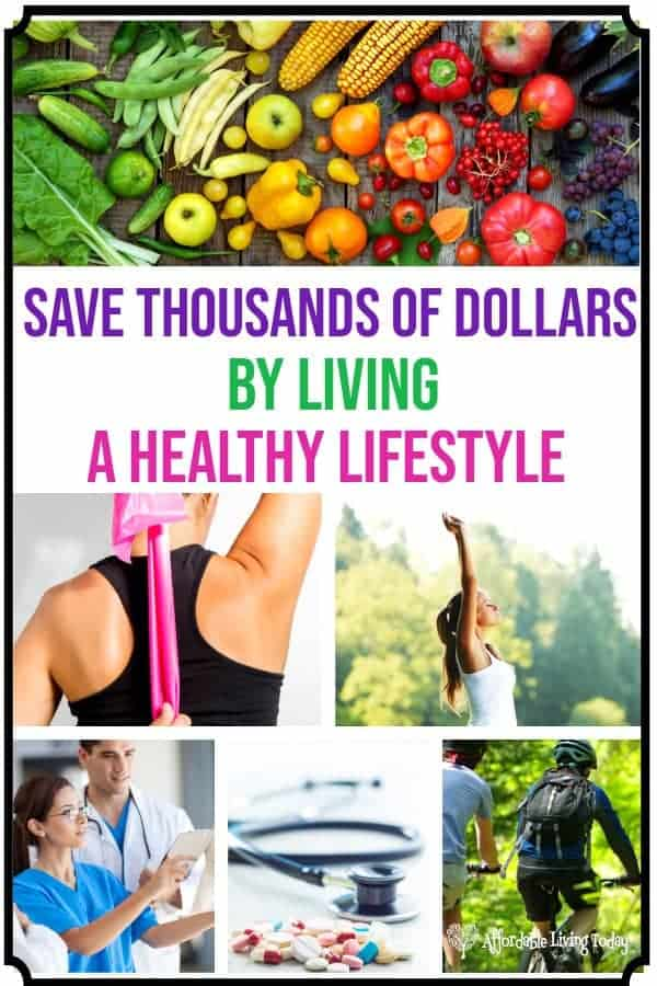 Medical bills are so expensive! Live a healthy lifestyle and reduce your lifetime medical costs.