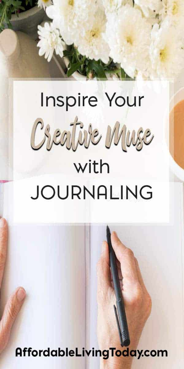 Journaling is all the rage these days. Besides helping organize your life, it can help you stir up your own creativity.