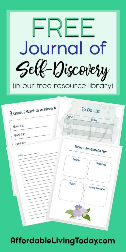 This free journal of self-discovery will help you set and achieve your goals.